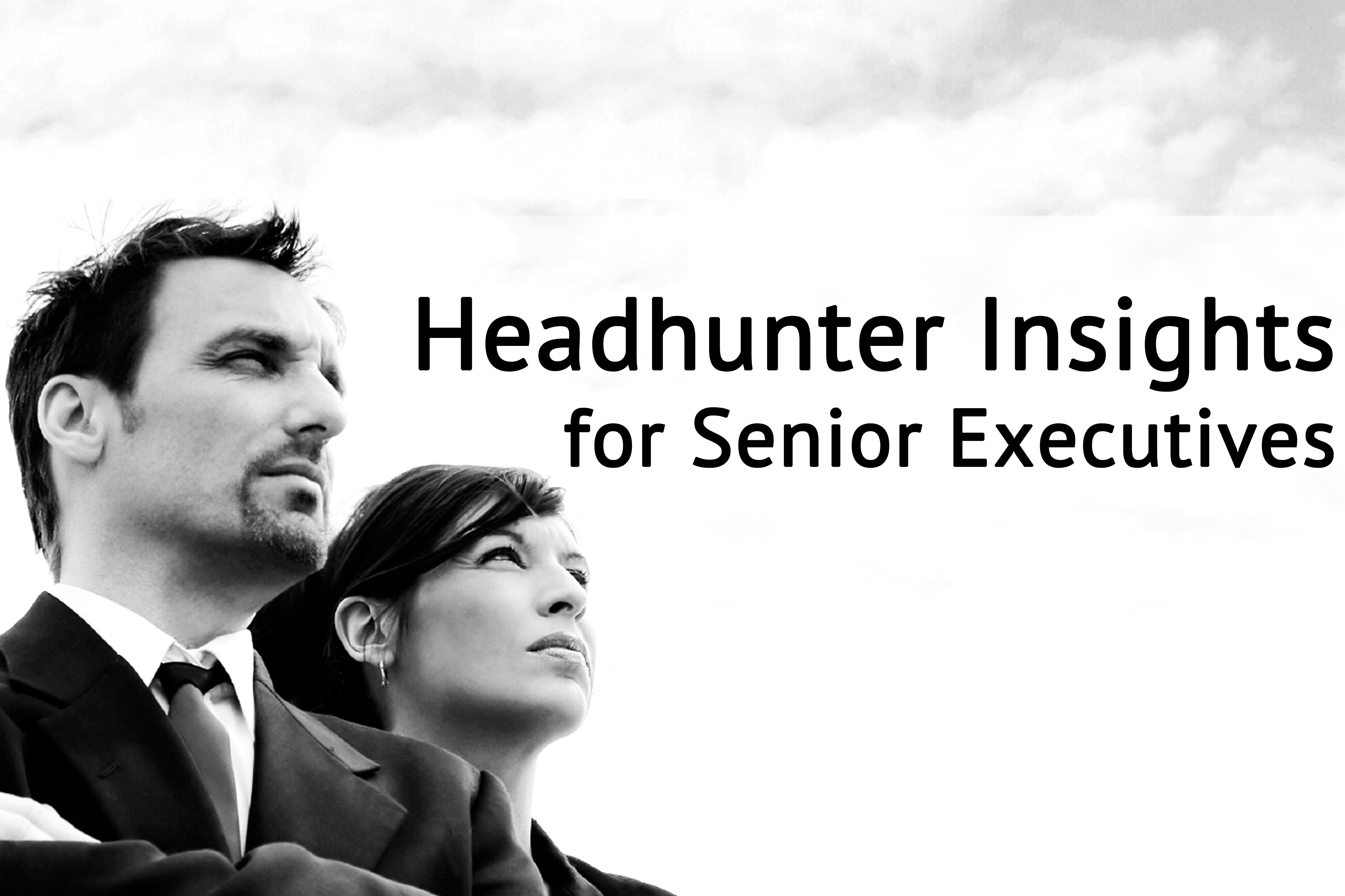 Headhunter Insights for Senior Executives