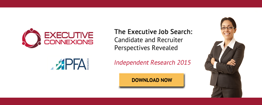 Executive Job Search Independent Research Report