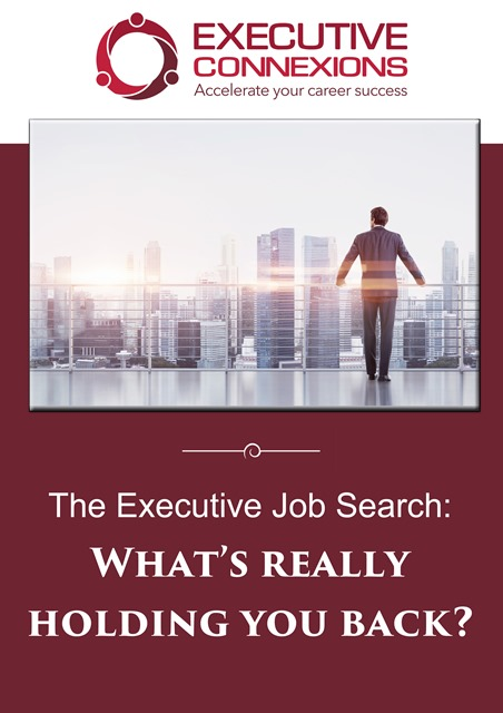 the exec job search whats really holding you back