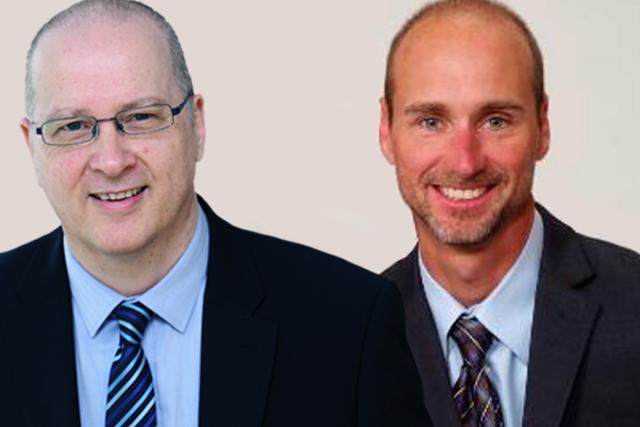 Steve Nicholls and Jim Claussen Executive Connexions Social Leadership Program