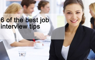 6 of the best Job Interview Tips