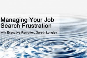 Managing Your Job Search Frustration
