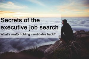 Secrets of the executive job search