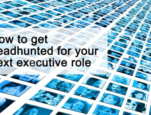 How to get headhunted for your next executive role