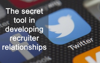 Twitter : The secret tool in developing recruiter relationships
