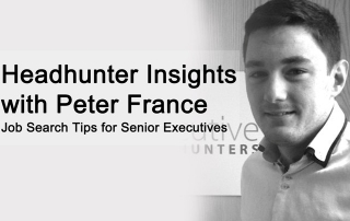 Headhunter insights with Peter France