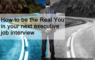 How to be the real you in your job interview
