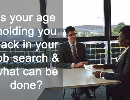 Is your age holding you back in your job search and what can be done? [Podcast]