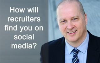 How will recruiters find you on social media?