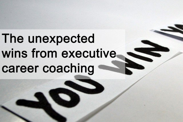the unexpected wins from executive career coaching
