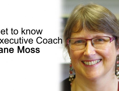 Get to know executive coach: Jane Moss