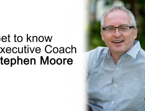 Get to know executive coach: Stephen Moore