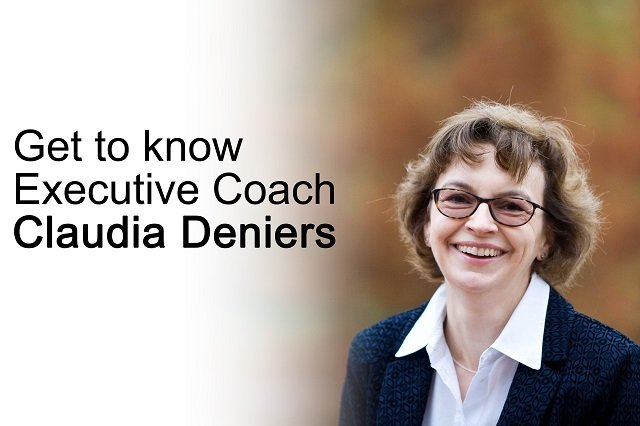 get to know executive coach claudia deniers