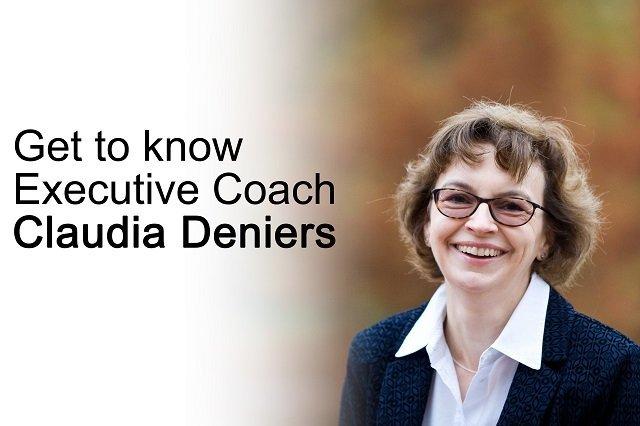 get to know executive coach claudia deniers