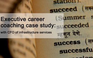 Executive Career Coaching Case Study CFO
