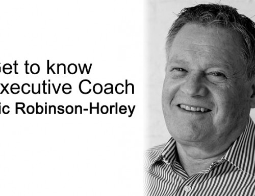 Get to know executive coach: Ric Robinson-Horley