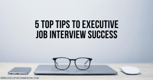 Executive Job Interview