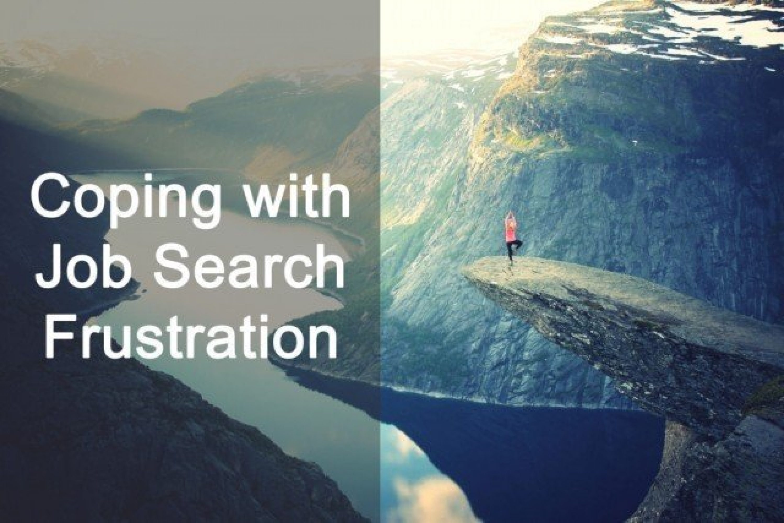 Coping with Job Search Frustration